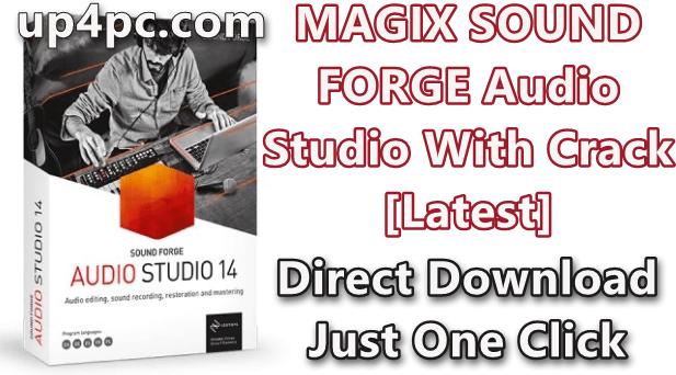 MAGIX SOUND FORGE Audio Studio 14.0.56 With Crack [Latest]