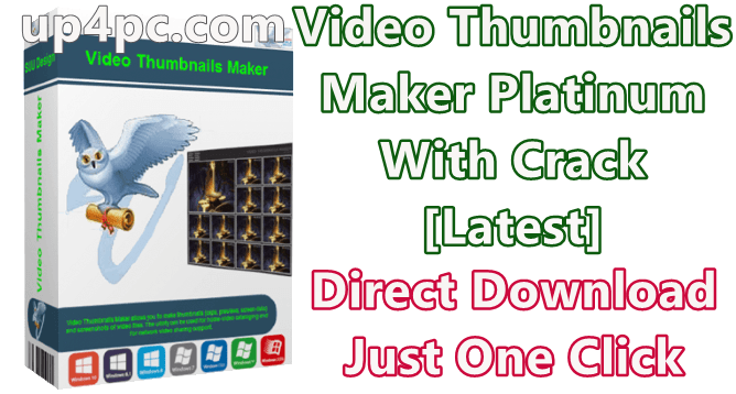 Video Thumbnails Maker Platinum 14.0.0.0 With Crack [Latest]