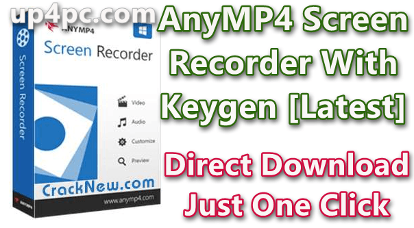 AnyMP4 Screen Recorder 1.2.36 With Keygen [Latest]