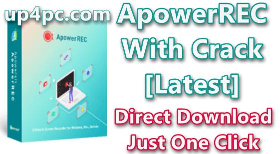 ApowerREC 1.4.2.11 With Crack [Latest]