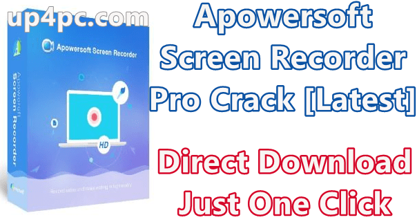 Apowersoft Screen Recorder Pro 2.4.1.5 With Crack [Latest]