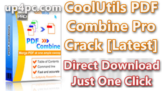CoolUtils PDF Combine Pro 4.2.0.19 With Crack [Latest]