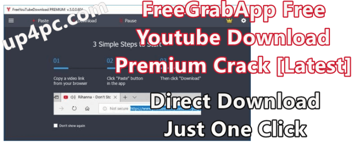 FreeGrabApp Free Youtube Download Premium 5.0.6.131 With Crack [Latest]