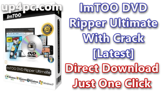 ImTOO DVD Ripper Ultimate 7.8.24 Build 20200219 With Crack [Latest]