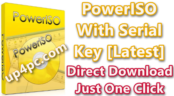 PowerISO 7.6 With Serial Key 2020 Download [Latest]
