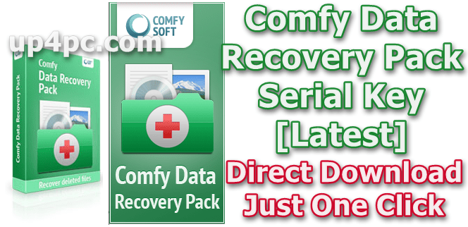Comfy Data Recovery Pack 2.8 With Serial Key [Latest]