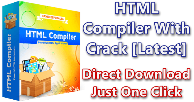 HTML Compiler 2020.4 With Crack [Latest]