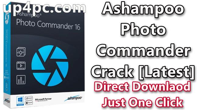 Ashampoo Photo Commander 16.1.2 Crack [Latest]