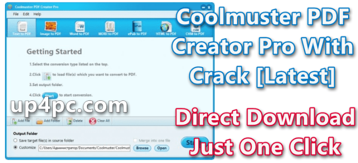 Coolmuster PDF Creator Pro 2.1.21 With Crack [Latest]