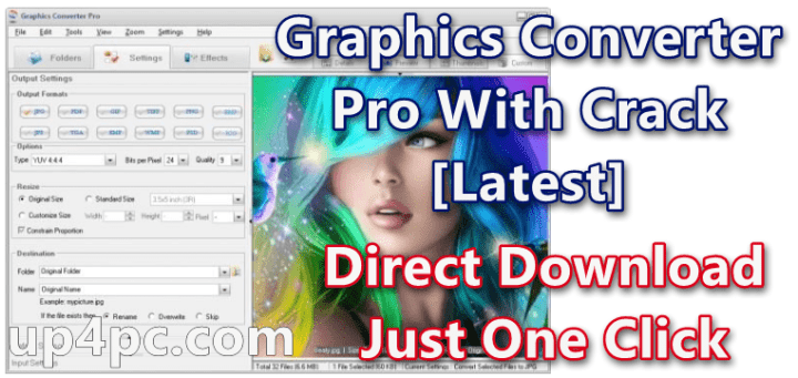 Graphics Converter Pro 4.50 Build 200410 With Crack [Latest]