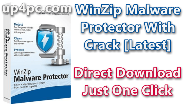 WinZip Malware Protector 2.1.1000.26650 With Crack [Latest]