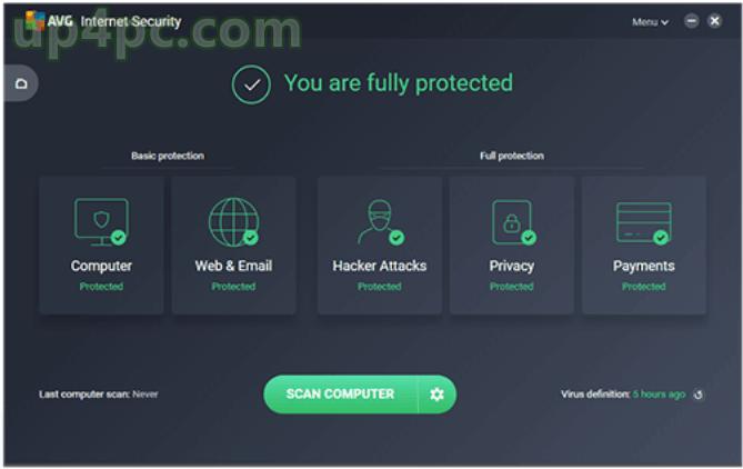 AVG Internet Security 20.2.3116 License Key Download
