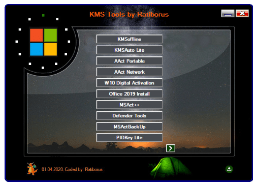 Ratiborus KMS Tools 01.05.2020 Free Download [Latest]