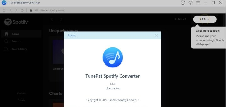 Tunepat Spotify Music Converter 1.17 Crack Download