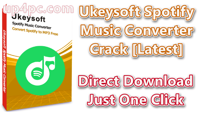 Ukeysoft Spotify Music Converter 2.9.3 With Crack [Latest]