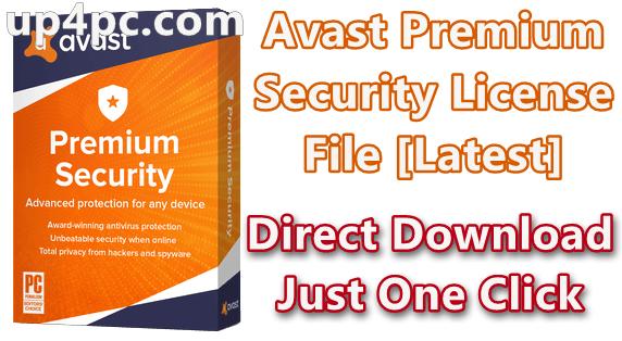 Avast Premium Security License File 20.5.2415 (Build 20.5.5410) Download [Latest]