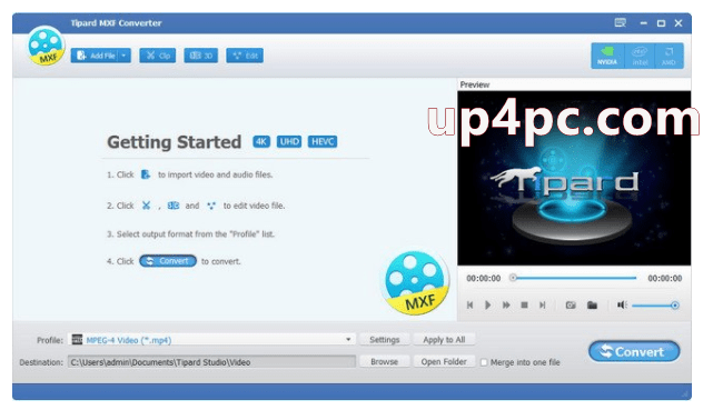 Tipard MXF Converter Crack Download [Latest]