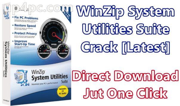 Winzip System Utilities Suite 3.10.0.22 With Crack [Latest]