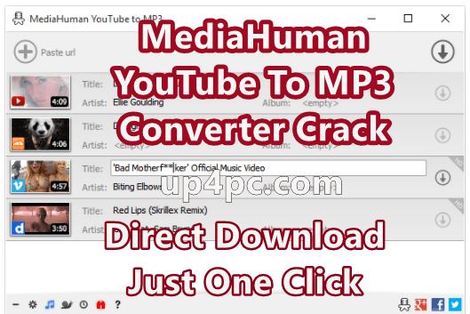 Mediahuman Youtube To Mp3 Converter 3.9.9.47 (2910) With Crack [Latest]