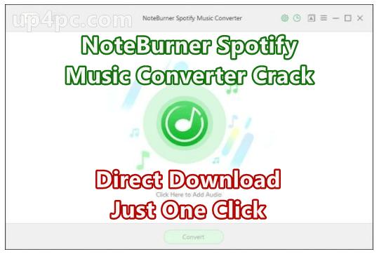 Noteburner Spotify Music Converter Crack Windows