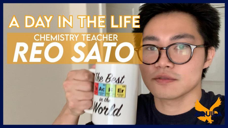 Day in the Life Quarantined: Chemistry Teacher Reo Sato