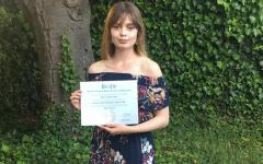 Makenna Welch graduated from CSU Monterey Bay with a Summa Cum Laude for her Psychology degree on May 2019.