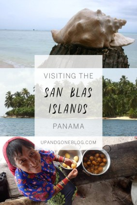 Boating through the San Blas Islands / upandgoneblog.com