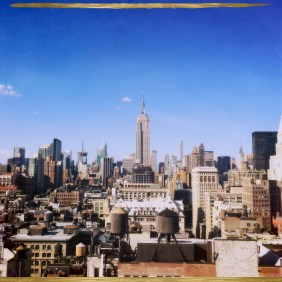 View of NYC skyline