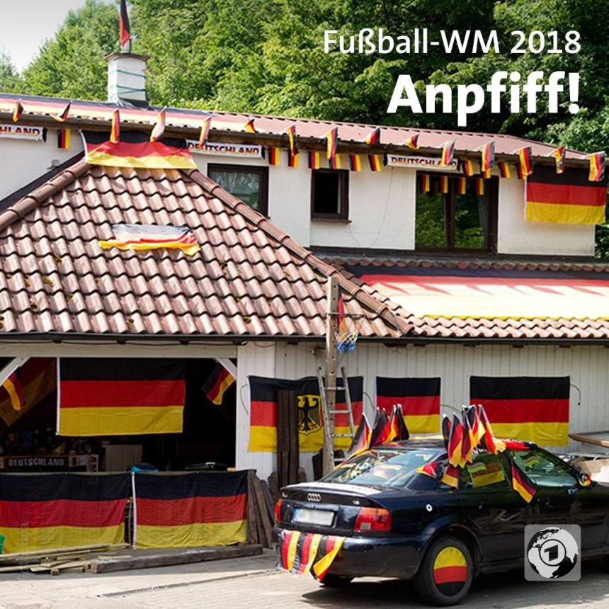 Germany World Cup decorations
