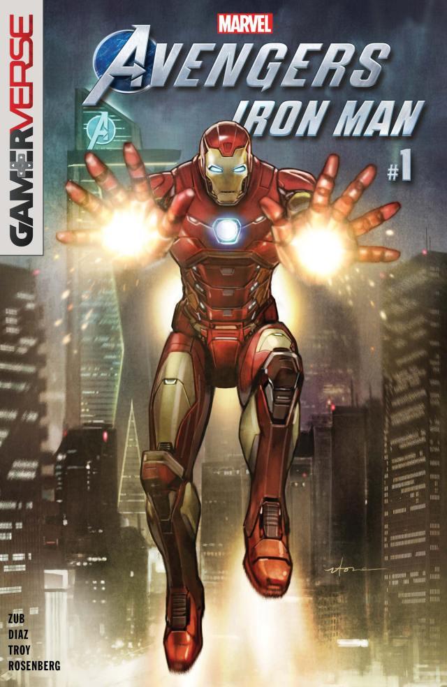 avengers iron man #1 gamerverse