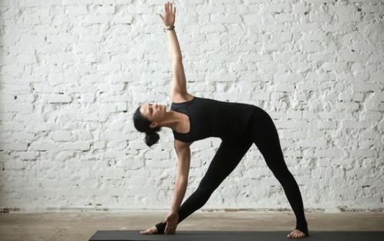Triangle Pose 1