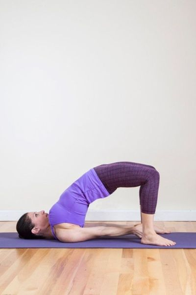 Bridge Pose Yoga To Increase Stamina