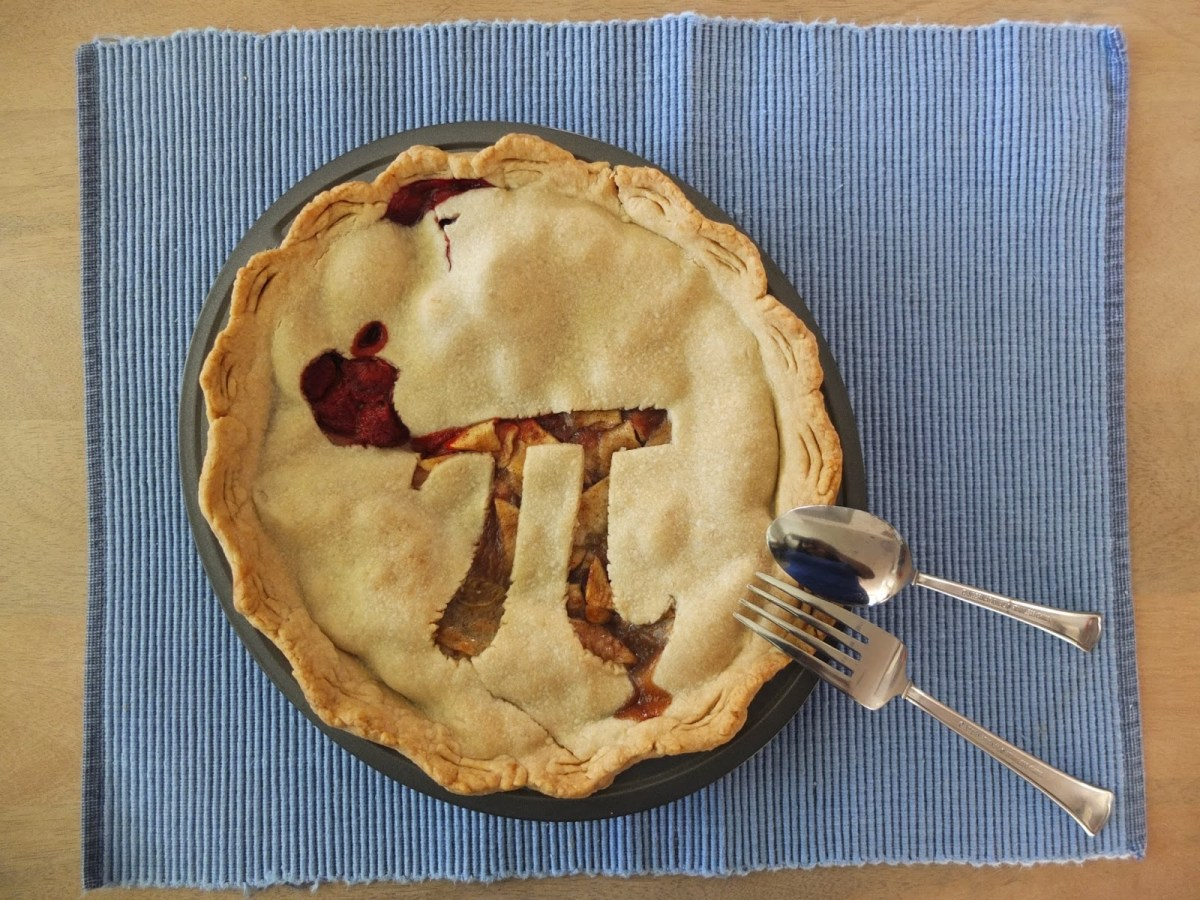 Finished Apple Pie for Pi Day