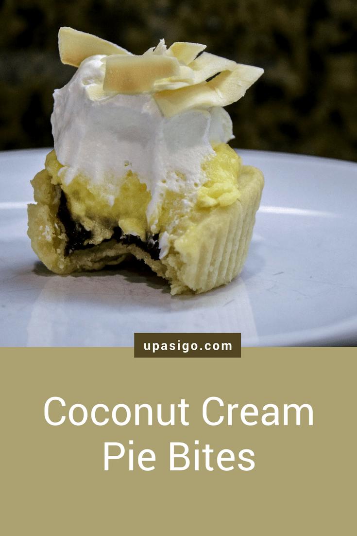 Coconut Cream Pie Bites