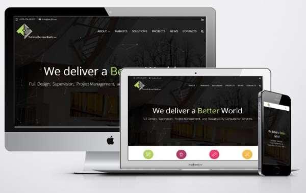 برمجة مواقع شركات المقاولات - تكنكال سيرفس استديو