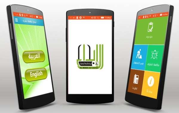 تصميم تطبيقات الهواتف الذكية شركة مكافحة الحشرات