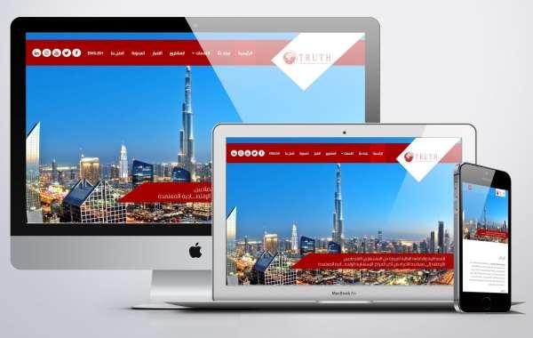 تصميم موقع استشارات اقتصادية شركة تروث للإستشارات الإقتصادية