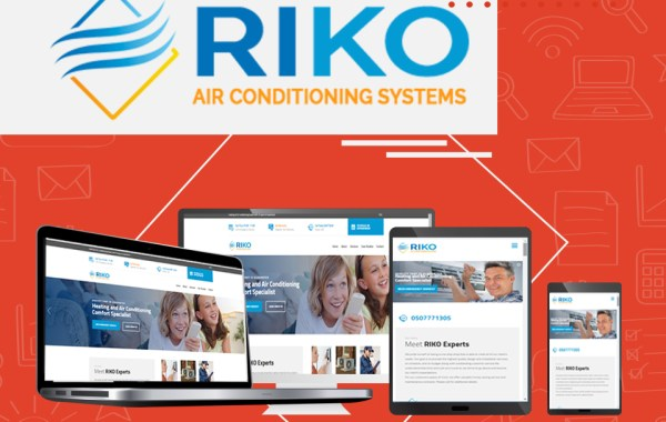 air conditioning company website design
