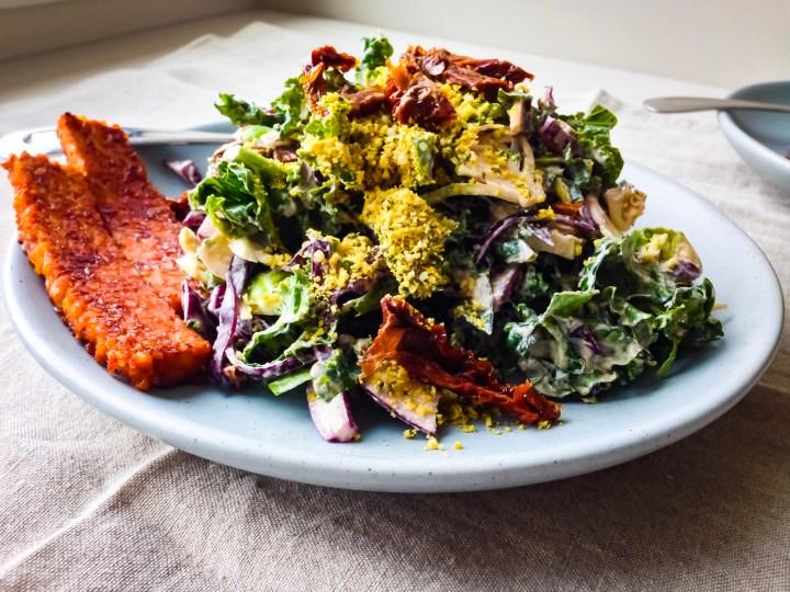 detox kale caesar salad
