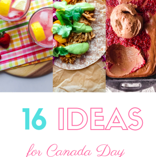 Vegan Canada Day Recipes