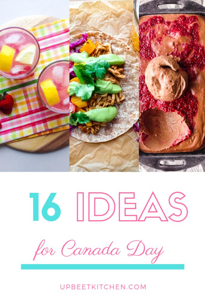Vegan Canada Day Recipes
