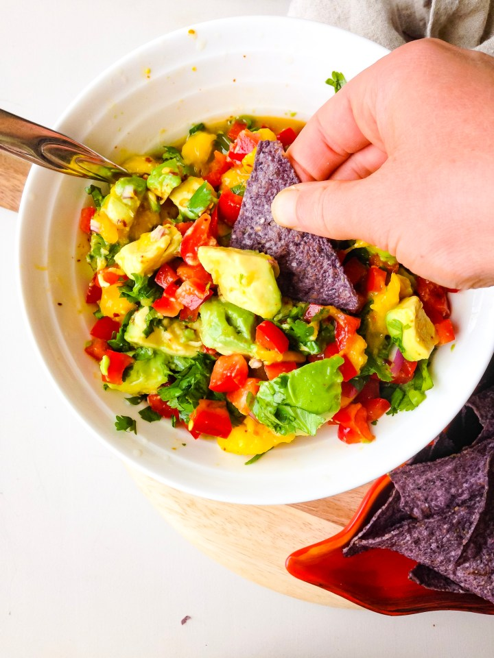The best mango avocado salsa