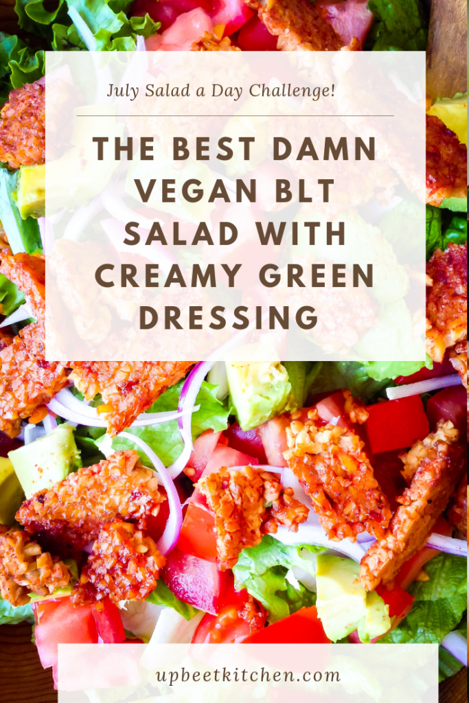 The best vegan BLT salad recipe