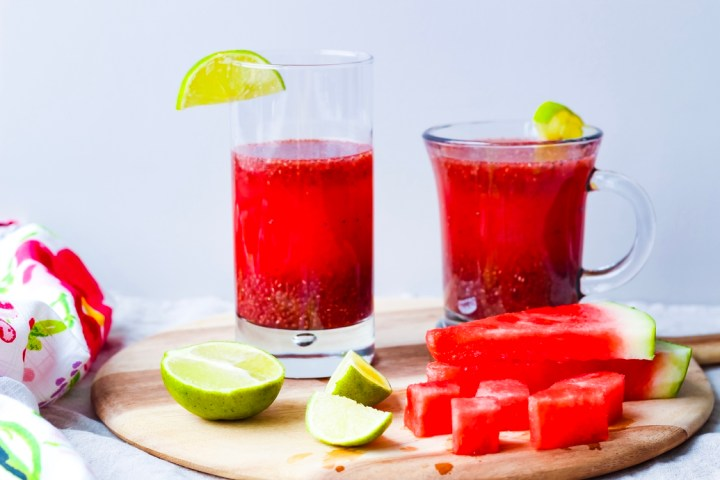 Watermelon Lime Chia Fresca / UpBeet Kitchen