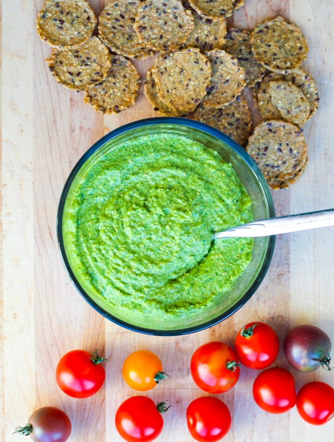 Vegan Cilantro, Jalapeno, and Pepita Pesto Recipe
