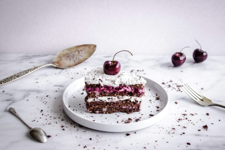 No-Bake Vegan Black Forest Cake from Vancouver With Love