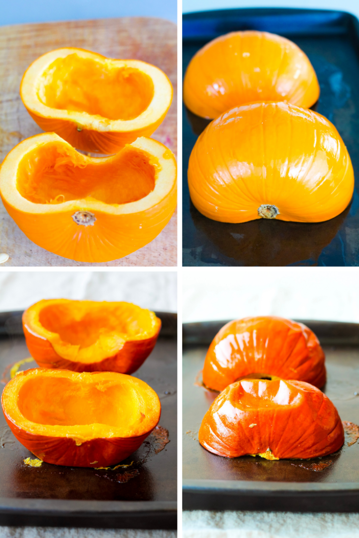 How to make homemade pumpkin puree: step by step tutorial!