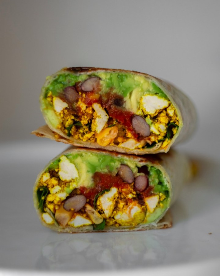 Vegan Breakfast Burrito from Not Hangry Anymore