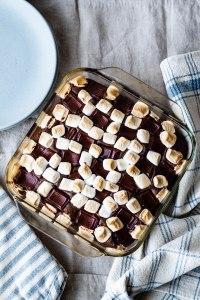 Vegan S'mores Cake Recipe