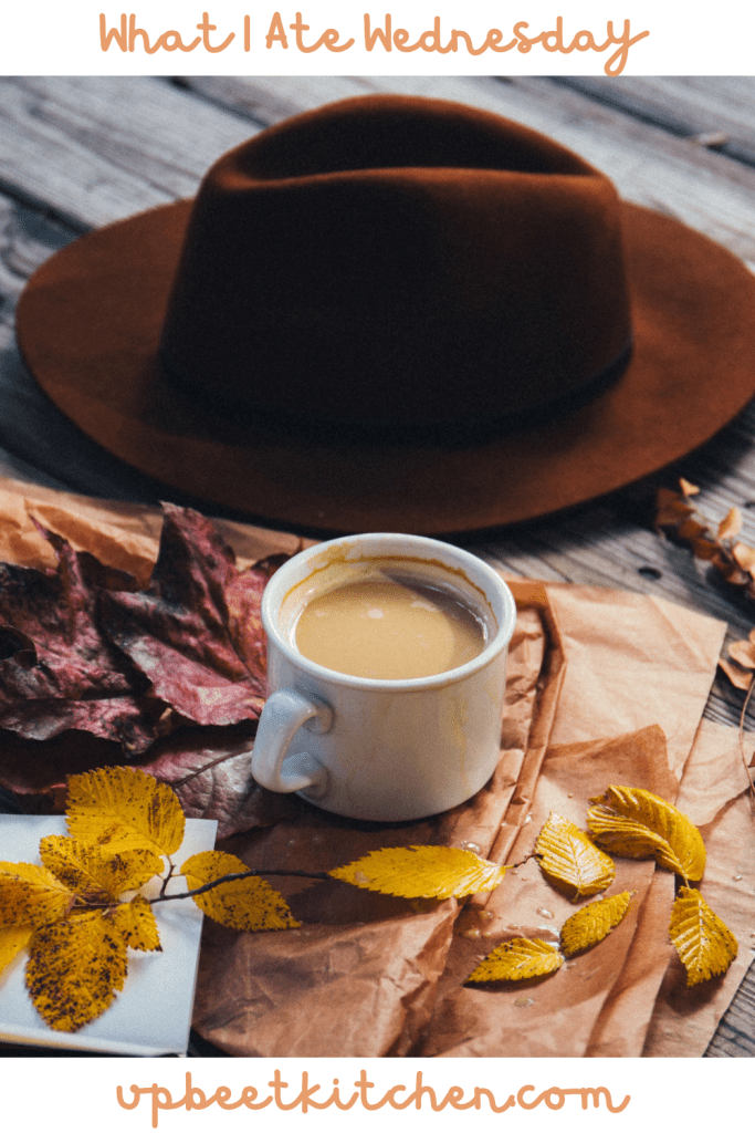 featured image for the post with a cup of coffee in an outdoors autumnal scene
